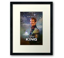 Star King Framed Print