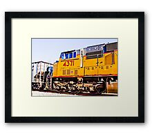 Union Pacific 4371 Framed Print