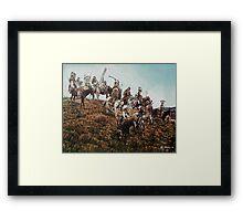 Oglala Sioux  Framed Print