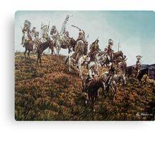 Oglala Sioux  Canvas Print