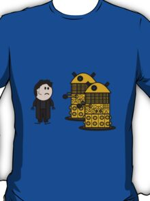 Jack Harkness and the Daleks T-Shirt