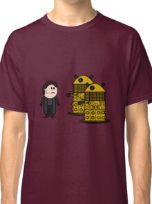 Jack Harkness and the Daleks Classic T-Shirt
