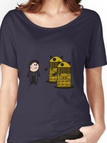 Jack Harkness and the Daleks Women's Relaxed Fit T-Shirt
