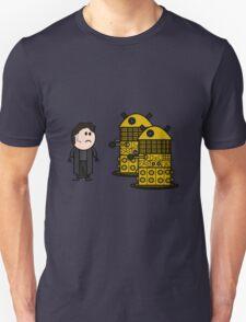 Jack Harkness and the Daleks Unisex T-Shirt