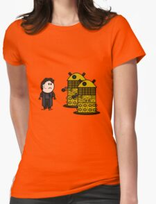 Jack Harkness and the Daleks Womens Fitted T-Shirt