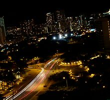 Honolulu @ Night by Hennessy