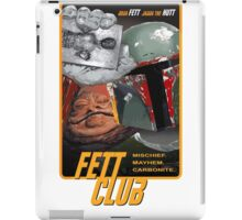 Fett Club (Orig.) iPad Case/Skin