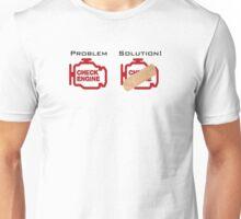 Check Engine Light Solution  Unisex T-Shirt