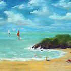 A day at the beach by WILT