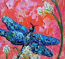 Impressionist Dragonfly by EloiseArt