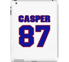National football player Dave Casper jersey 87 iPad Case/Skin