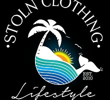 LIFESTYLE BIG BACK PRINT BLACK by Stoln  Clothing