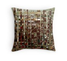 G Squared Throw Pillow