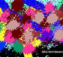 (I LIKE TO PEOPLE PUT IN THEIR PLACE ) ERICWHITEMAN  ART by eric  whiteman
