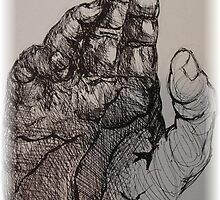 hand in ink by mrmc714
