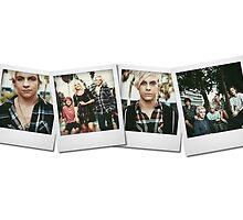 R5 - Polaroid Collage by r5paradise