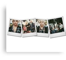 R5 - Polaroid Collage Canvas Print