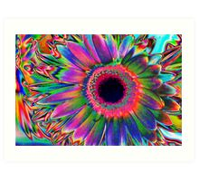 Colours Art Print