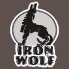 Iron wolf t-shirts by valizi