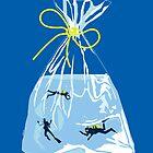 fishy business (royal blue) by mtths