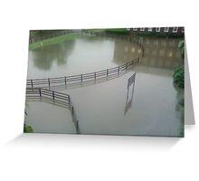 flood Greeting Card
