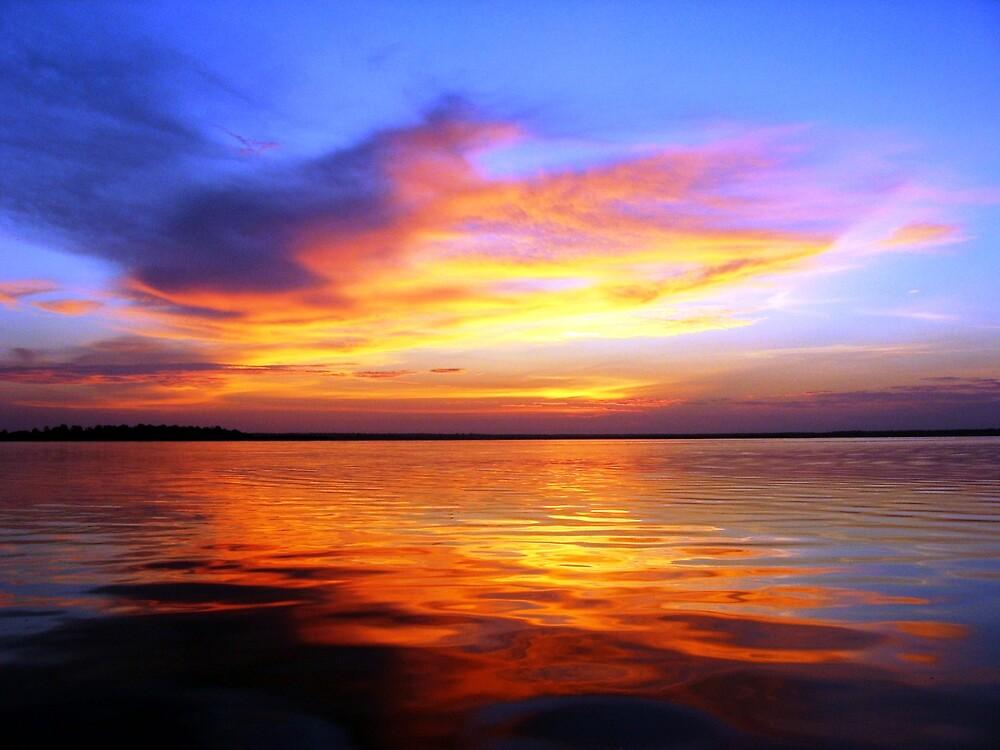 Sunrise on the Amazon River by Graham Ettridge