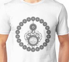 Button-Up Paisley Unisex T-Shirt