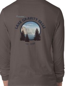 Lake Gravity Falls Long Sleeve T-Shirt