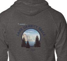 Lake Gravity Falls Zipped Hoodie