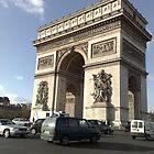 L'Arc de Triomphe by Blondilox