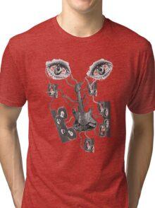 MvS-Hear See Listen Tri-blend T-Shirt