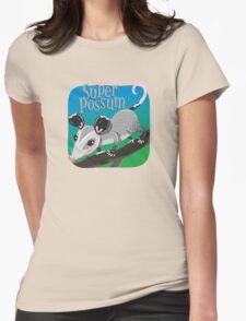 Super Possum Womens Fitted T-Shirt