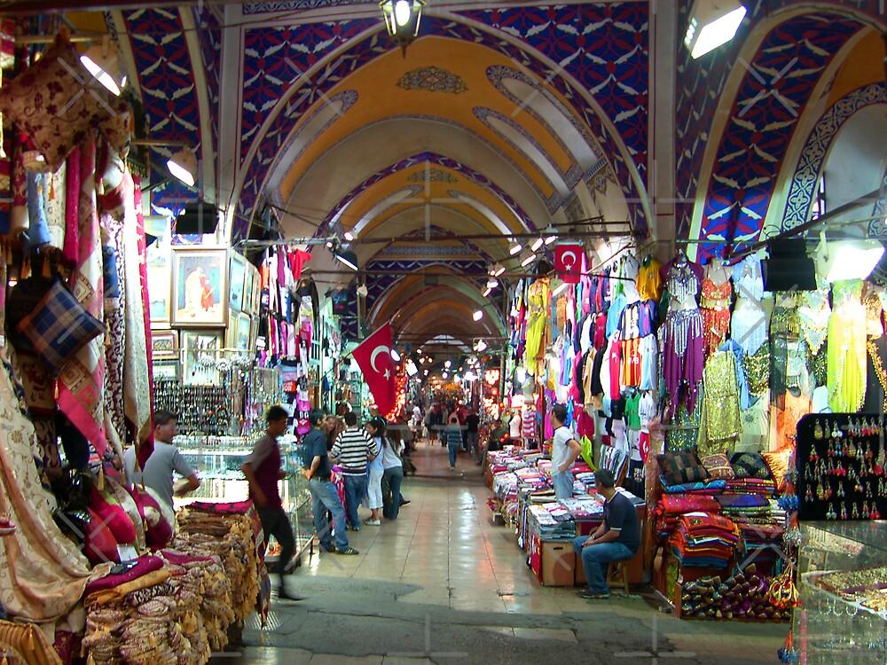 The Grand Bazaar, Istanbul by Tom Gomez