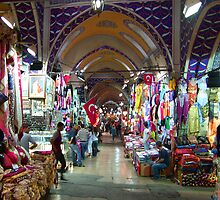 The Grand Bazaar, Istanbul by Tom Gomez