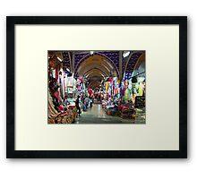 The Grand Bazaar, Istanbul Framed Print