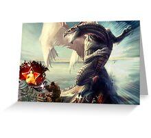 (three)Dragon's Request... Greeting Card