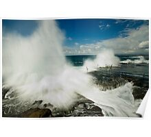 Wild Seas at the Bogey Hole Poster