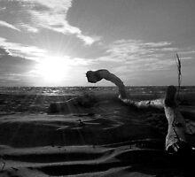 Sunset Beach by Allison Lane