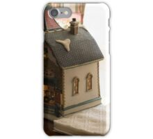 on the table iPhone Case/Skin