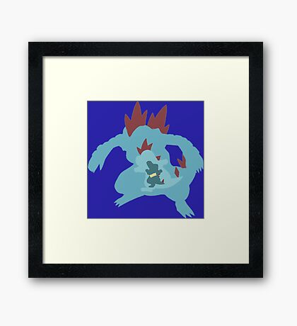 The Gator  Framed Print