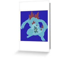 The Gator  Greeting Card