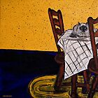 Himalayan Cat on Table by hickerson