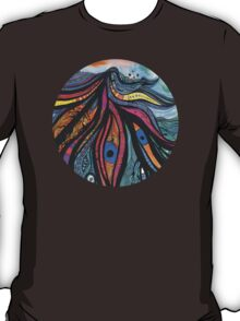 Butterfly Dance Circle T-Shirt
