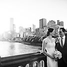 Wedding Photography Princes Bridge by Louisa Jones