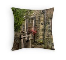 The Little Red Tree Throw Pillow