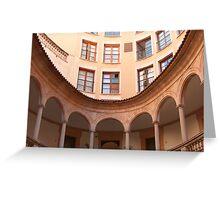 A Courtyard in Palma Greeting Card