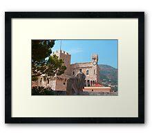 Prince's Palace, Monaco Framed Print