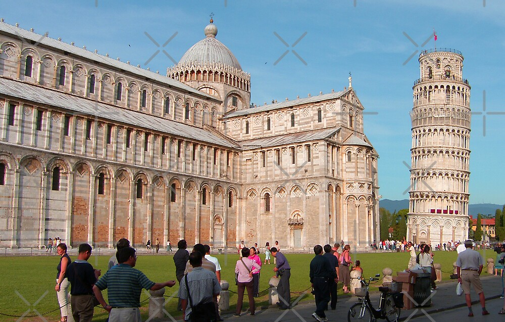 Duomo and Leaning Tower, Pisa by Tom Gomez