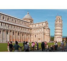 Duomo and Leaning Tower, Pisa Photographic Print