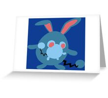 The Johto Water Mouse Greeting Card